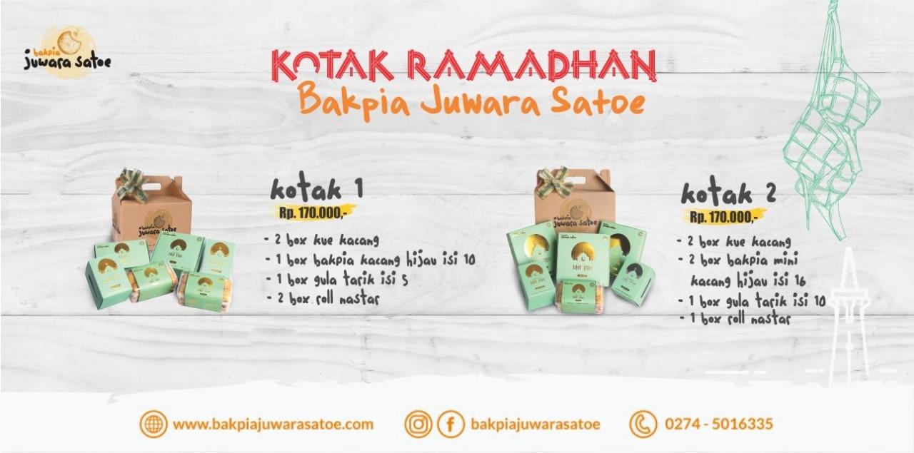 Paket Kotak Ramdan Bakpia Juwara Satoe